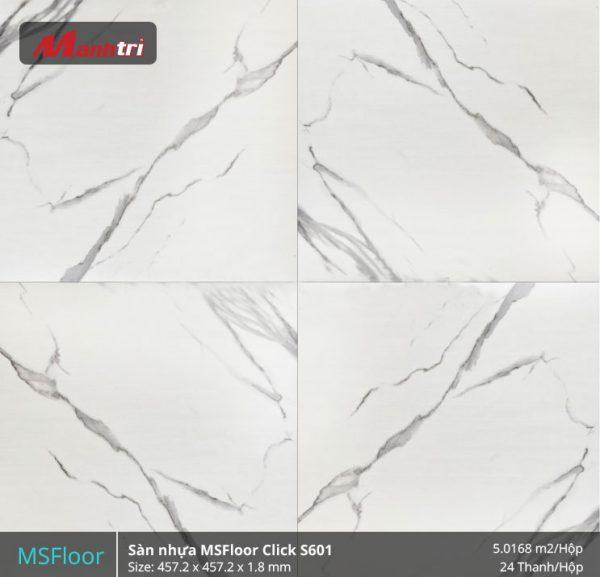 sàn nhựa MSFloor S601 hình 1