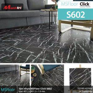 sàn nhựa MSFloor S601 hình 2