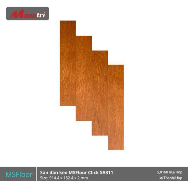 Sàn Nhựa MSFloor Click SA311