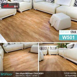 sàn nhựa MSFloor W501 hình 2