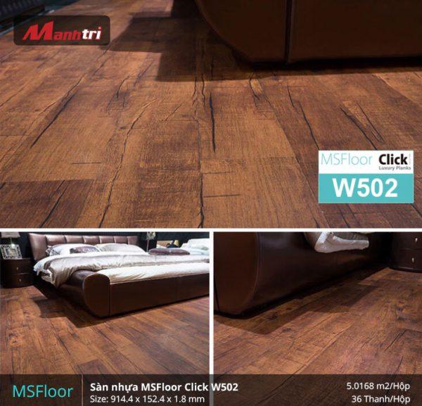 sàn nhựa MSFloor W502 hình 2