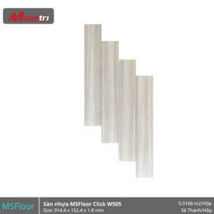 sàn nhựa MSFloor W505 hình 1