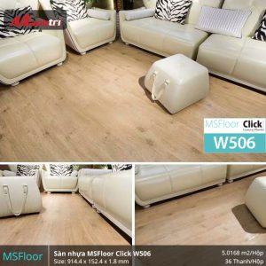 sàn nhựa MSFloor W506 hình 2