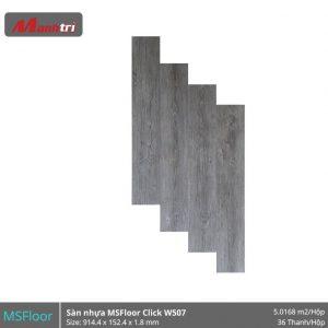 sàn nhựa MSFloor W507 hình 1
