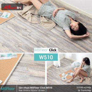 sàn nhựa MSFloor W510 hình 2