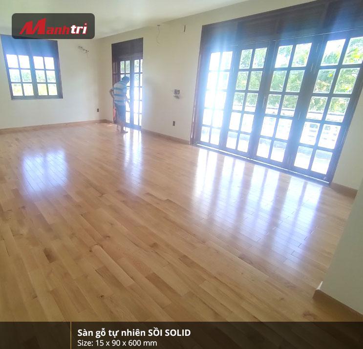 Sàn gỗ tự nhiên sồi