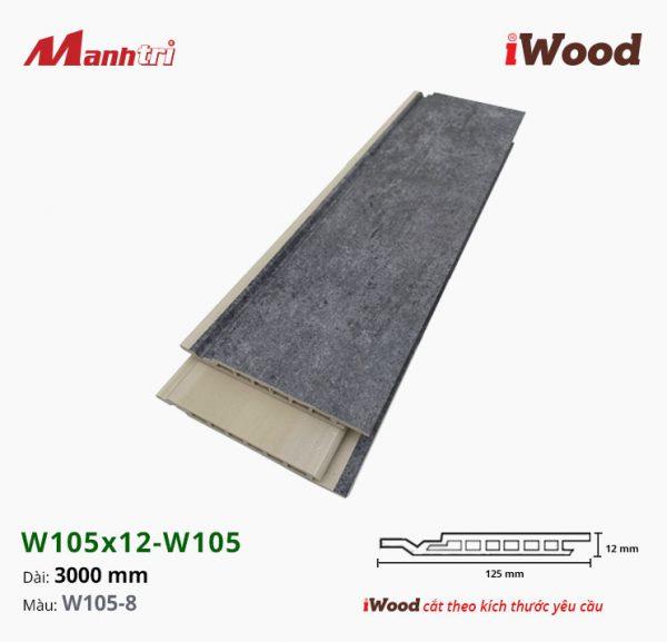 iWood W105x12-W105-8