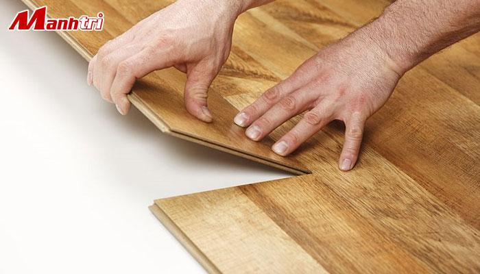 hình sàn gỗ công nghiệp