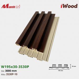 tấm ốp iWood 3S30P-10 hình 2