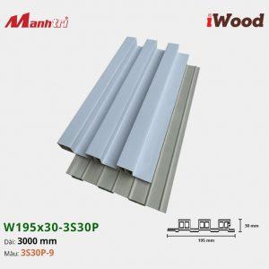 tấm ốp iWood 3S30P-9 hình 2