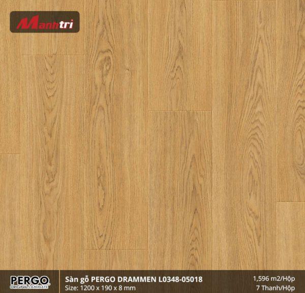 sàn gỗ Pergo Drammen 05018